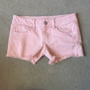 American Eagle Pastel Jean Shorts